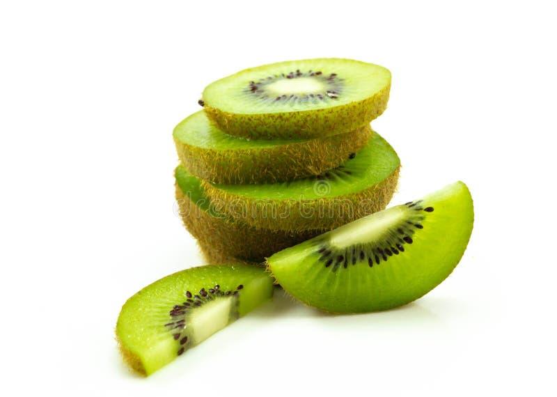 Kiwifrucht getrennt auf weißem Hintergrund lizenzfreie stockfotos