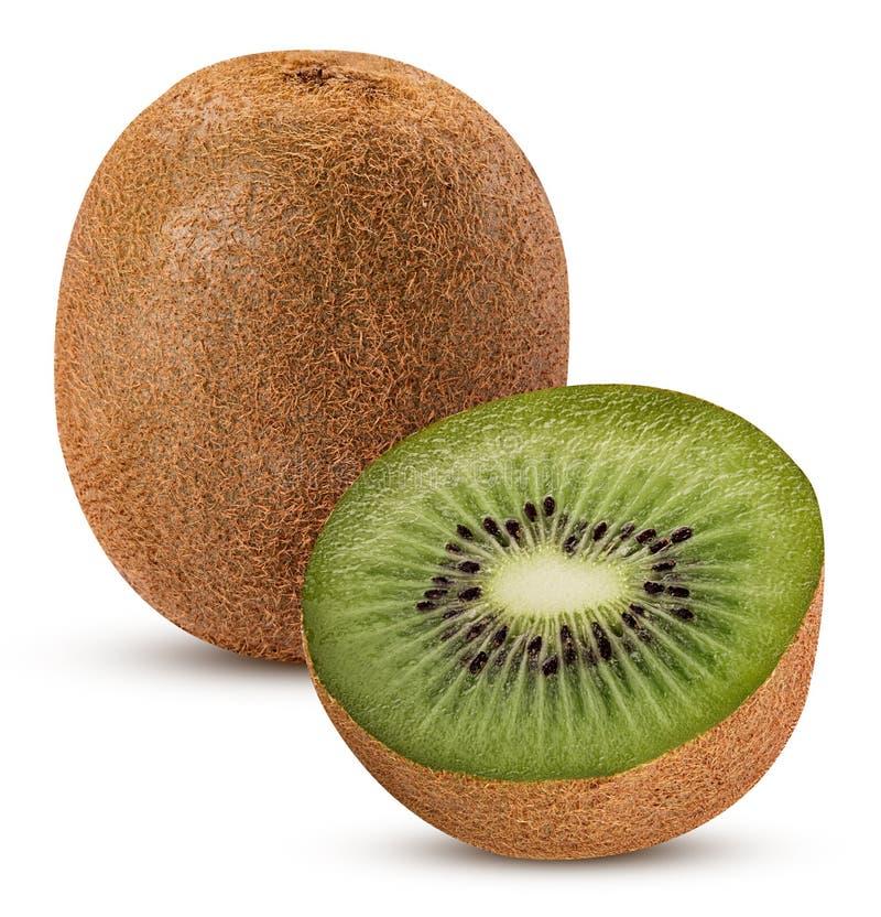 Kiwifruit één in de helft wordt gesneden die stock fotografie