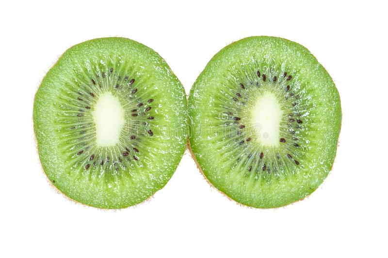 kiwifruit που διχοτομείται φρέσκο στοκ εικόνες με δικαίωμα ελεύθερης χρήσης