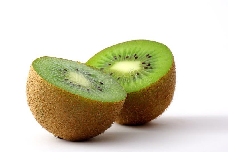 Kiwifruitscheiben stockfotos