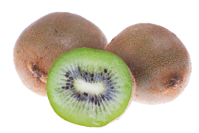 Kiwis verts frais image stock
