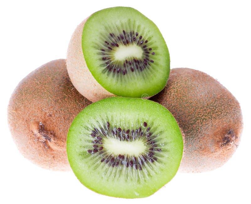 Kiwis verts frais photo libre de droits