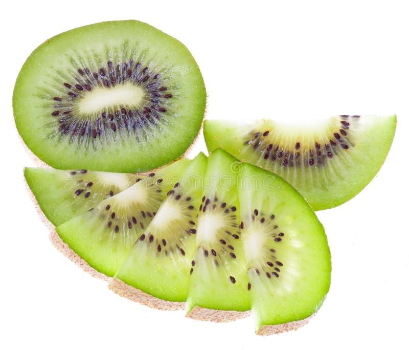 Kiwis verts frais photographie stock