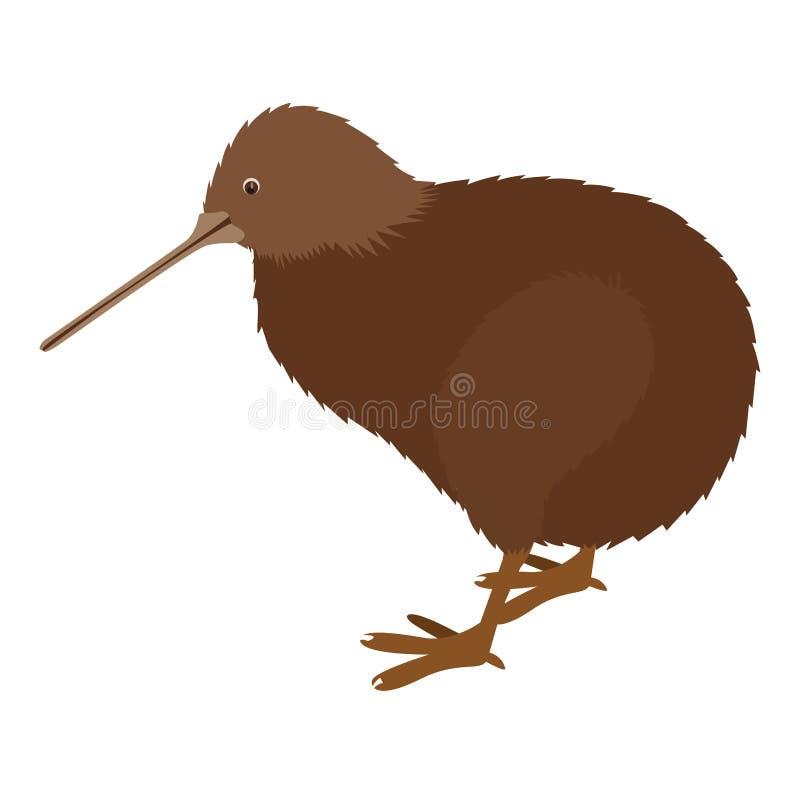 Kiwivogelikone vektor abbildung