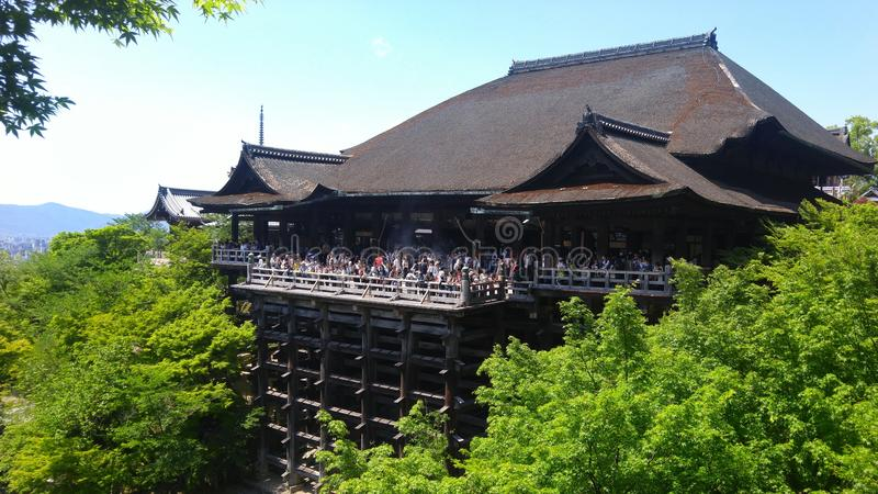 Kiyamizu-Dera stock photos