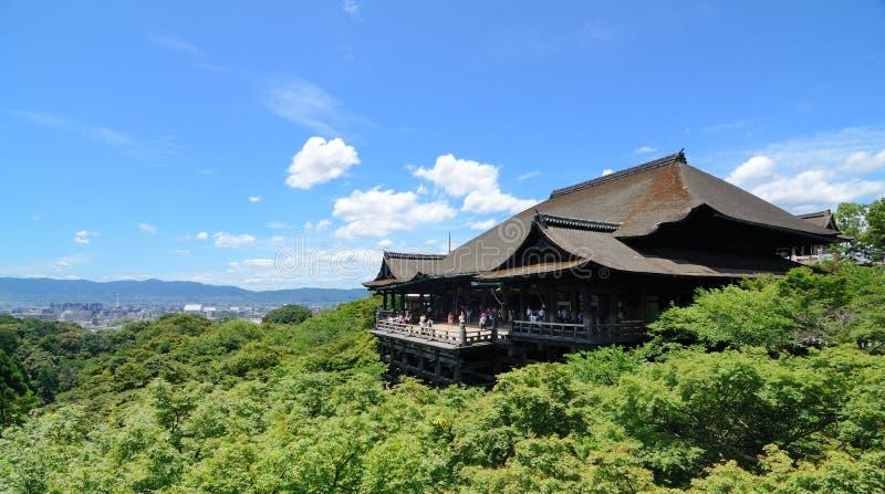 Kiyomizu-Dera fotografie stock libere da diritti