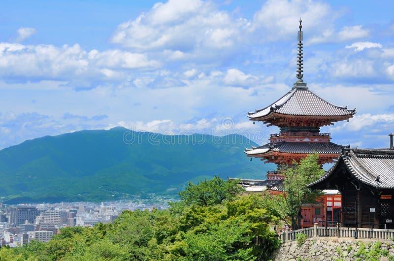 Kiyomizu-Dera stockbilder