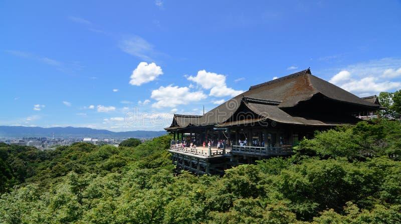 Kiyomizu-dera stockfotografie