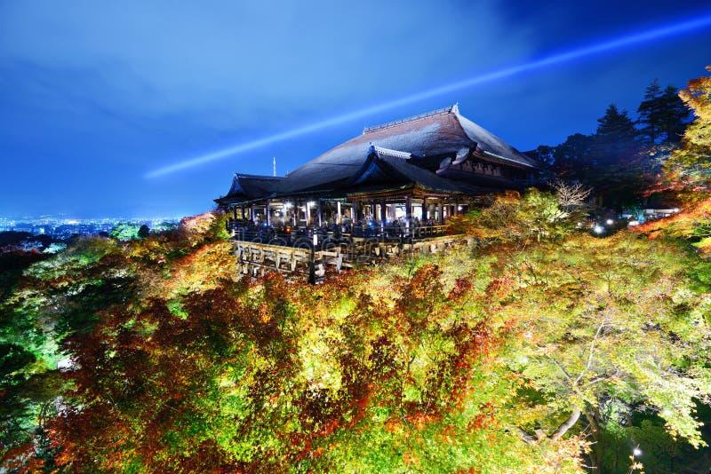 Kiyomizu-dera photo stock