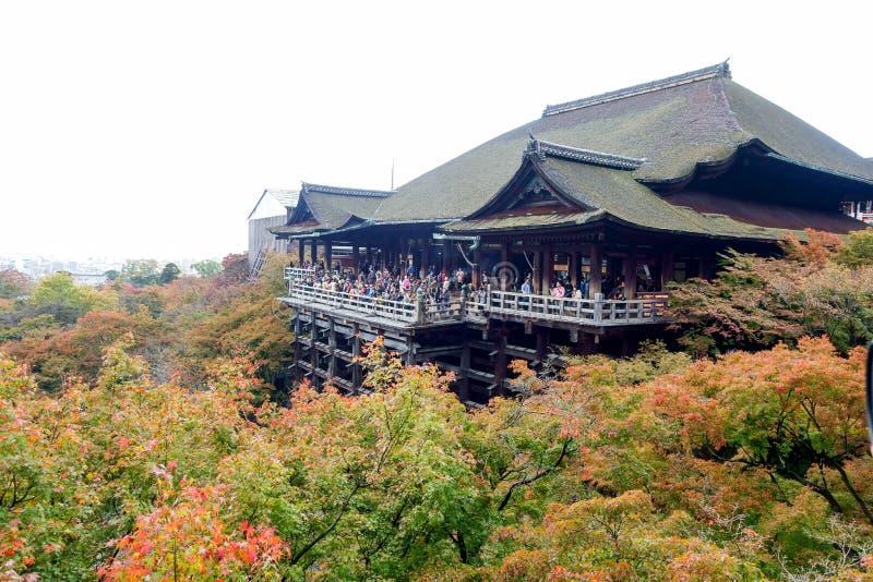 Kiyomizu-dera photos libres de droits