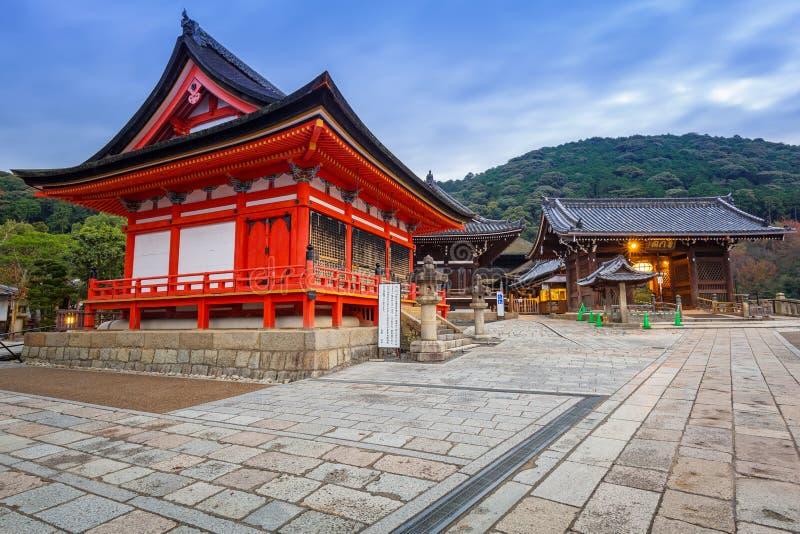 Kiyomizu-Dera Buddyjska świątynia w Kyoto, Japonia obrazy royalty free