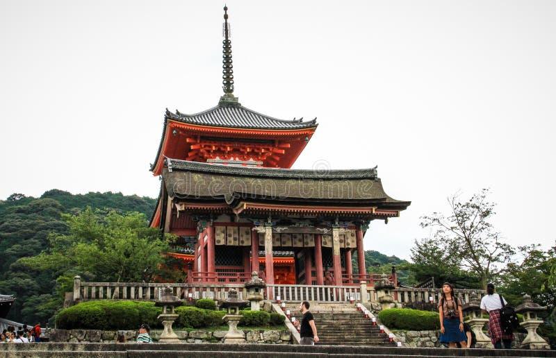 Kiyomizu-Dera, officieel otowa-San kiyomizu-Dera, Higashiyama -higashiyama-ku, Kyoto, kansai, Japan royalty-vrije stock fotografie