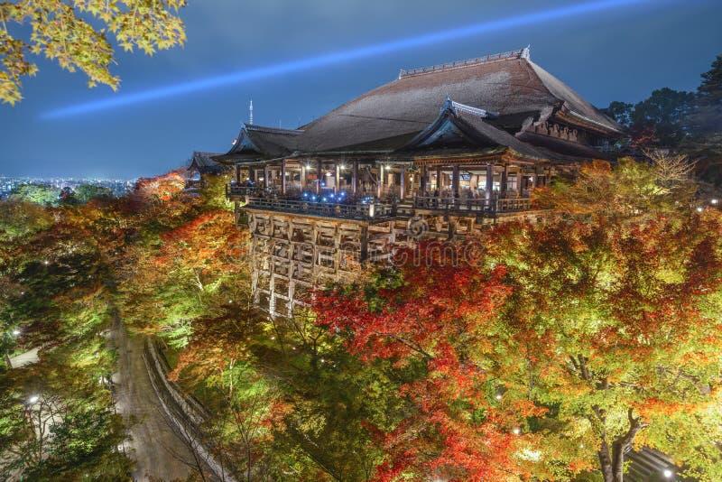Kiyomizu-dera Shrine in Kyoto stock image