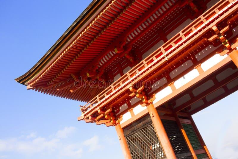 Kiyomizu-dera, temple au Japon photographie stock libre de droits