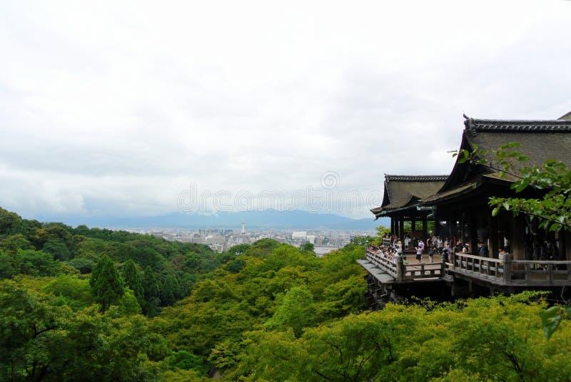 Kiyomizu Dera Temple Kyoto Japan foto de archivo libre de regalías