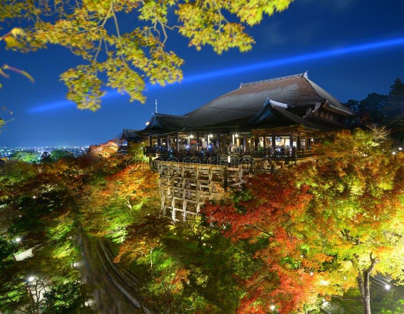 Kiyomizu-deratempel lizenzfreies stockbild