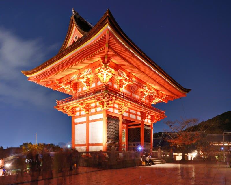 Kiyomizu-derator lizenzfreies stockfoto