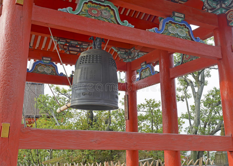 Kiyomizu dery świątynia w Kyoto zdjęcia stock