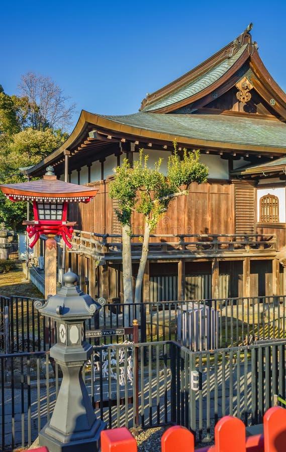 Kiyomizu Kannon-do Temple, Ueno Park in Tokyo royalty free stock photo