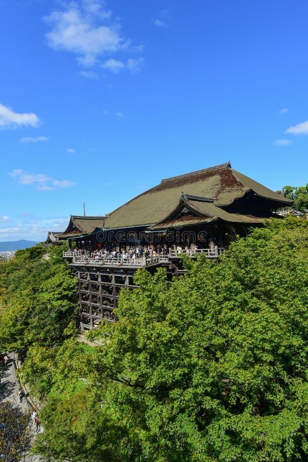 Kiyomizu-Tempel, Kyoto, Japan, stockbilder