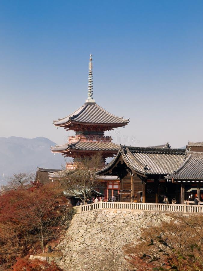 Download Kiyomizu temple stock image. Image of kawaramachi, attraction - 4339839