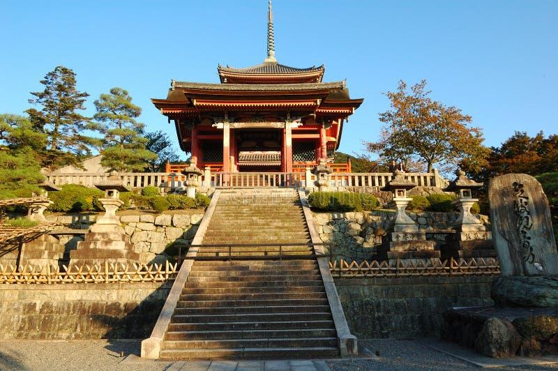 Download Kiyomizu Temple stock image. Image of pavilion, carving - 4992427