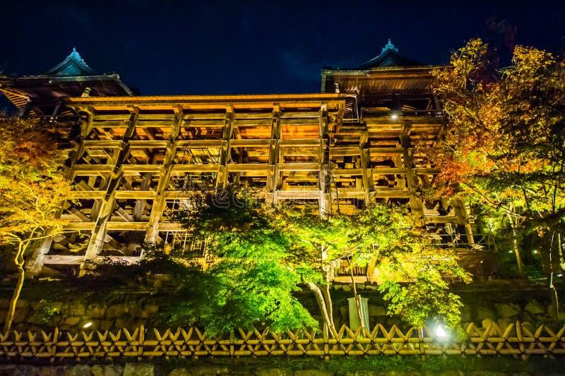 Kiyomizudera Telple stock photography