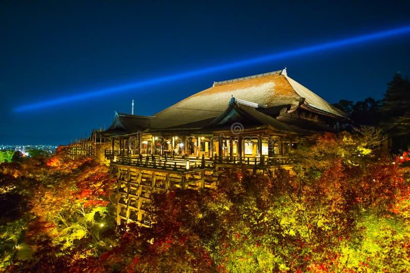 Kiyomizudera Telple. In Kyoto stock image