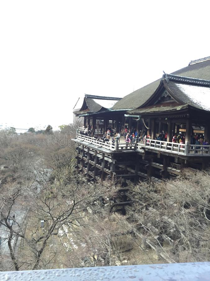 Kiyomizudera Temple royalty free stock image