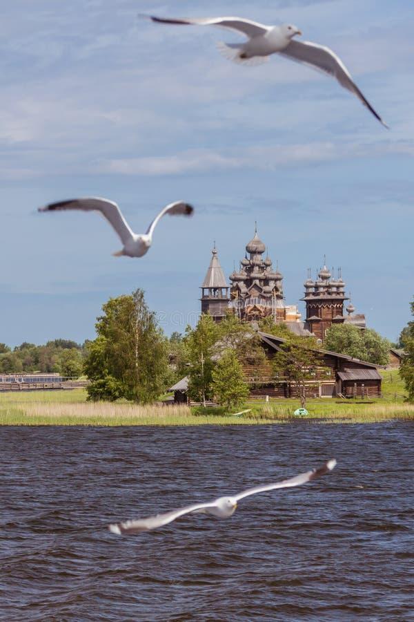 Kizhi island, Karelia, Russia. Kizhi island, Karelia, north of Russia royalty free stock photos