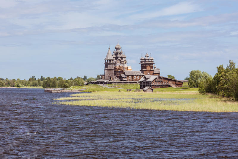 Kizhi island, Karelia, Russia. Kizhi island, Karelia, north of Russia stock image
