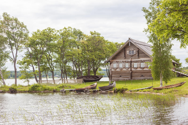 Kizhi island, Karelia, Russia. Kizhi island, Karelia, north of Russia stock images