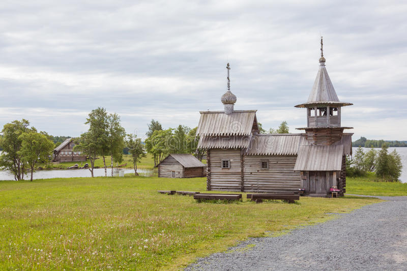 Kizhi island, Karelia, Russia. Kizhi island, Karelia, north of Russia royalty free stock photo