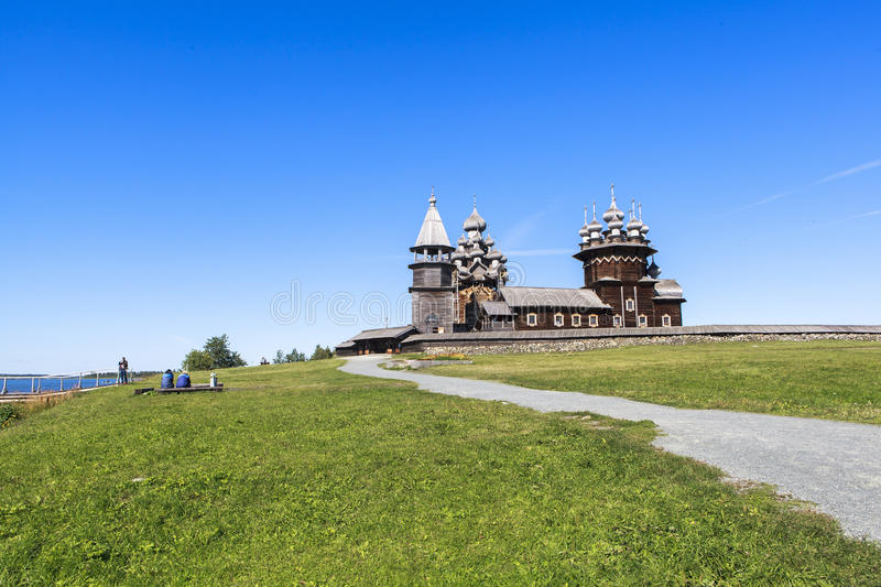 Kizhi Island in Russia stock photos