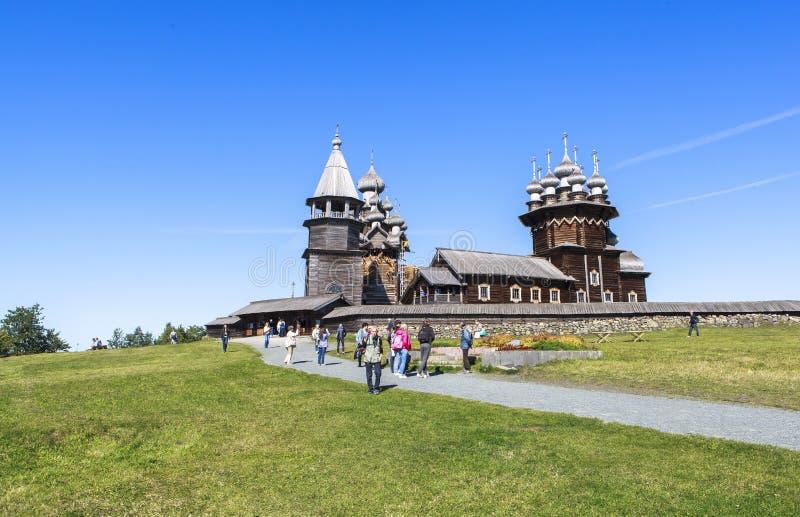 Kizhieiland in Rusland royalty-vrije stock foto