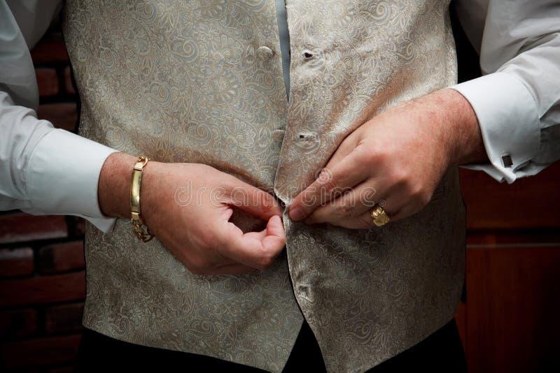 klä brudgum arkivbilder