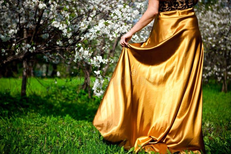 klä guld arkivbilder