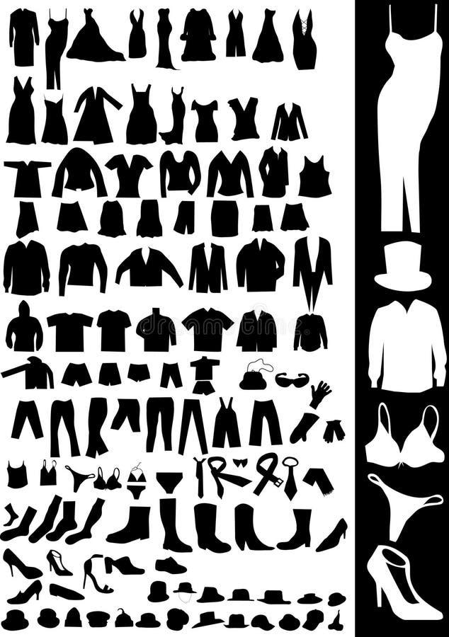 kläder arkivfoton