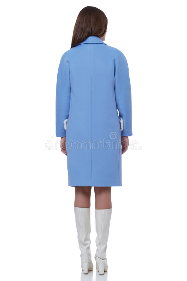 Kläder för stil för affär för kvinnakläder för tillfällig mötesänka för kontor arkivfoton