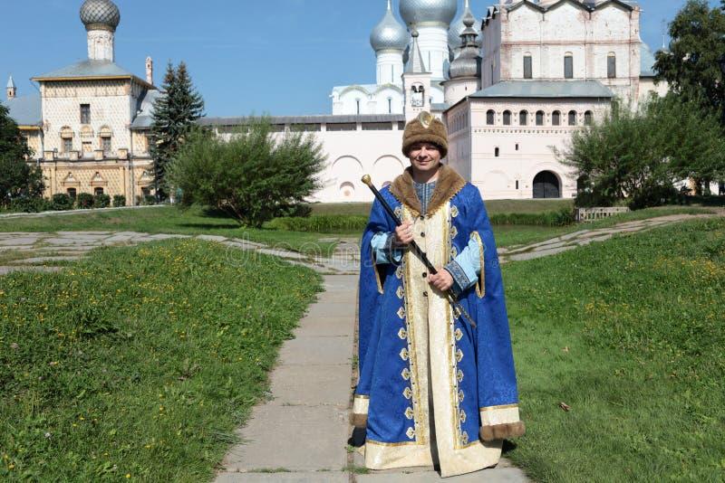 kläder man den regal personalen royaltyfri fotografi