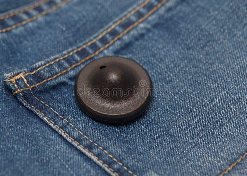 Klädsäkerhetsetikett arkivfoto