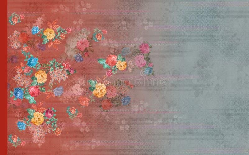 Klänning för blazer för dräktomslagskurta digital stock illustrationer