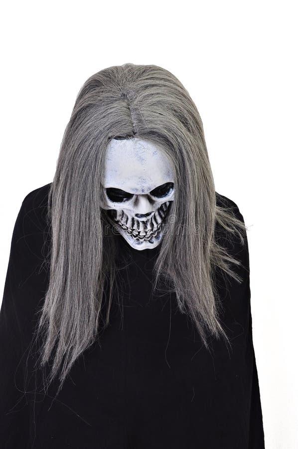 Klänning upp för Halloween fotografering för bildbyråer