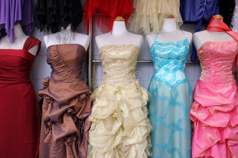 klänningar arkivbilder