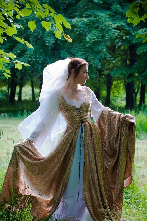 klänningitalienarerenässans arkivfoto