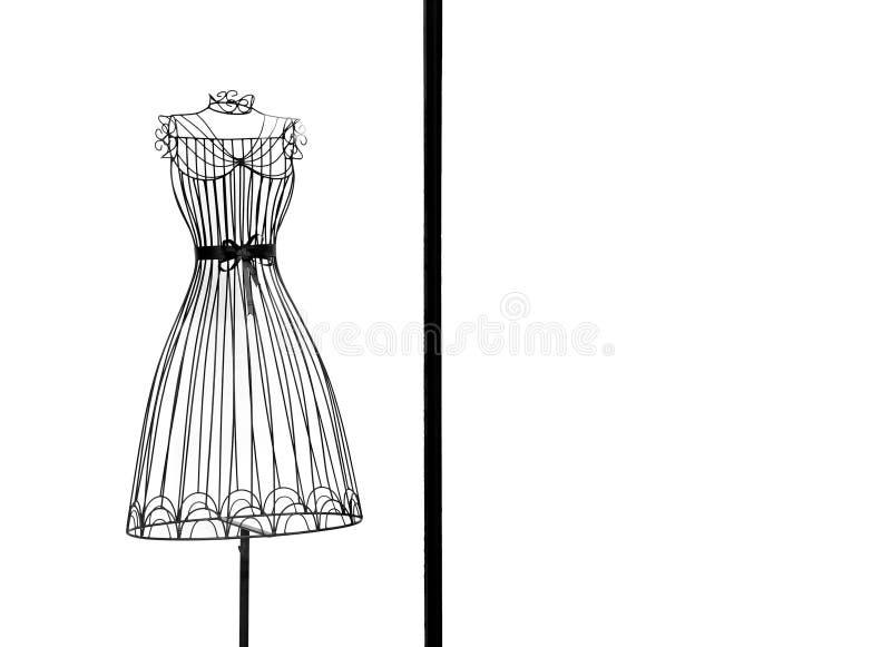 klänningram arkivfoto