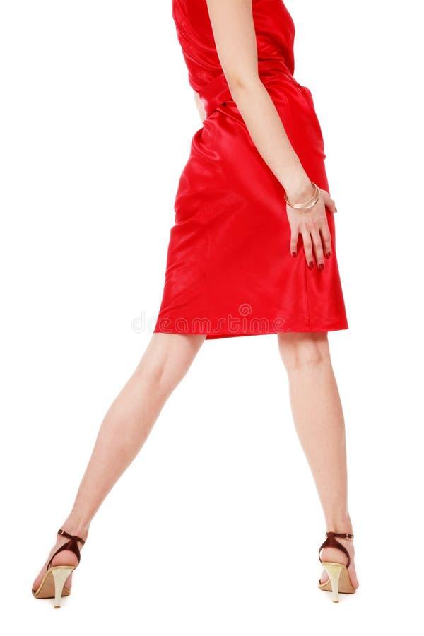 klänningred arkivfoton