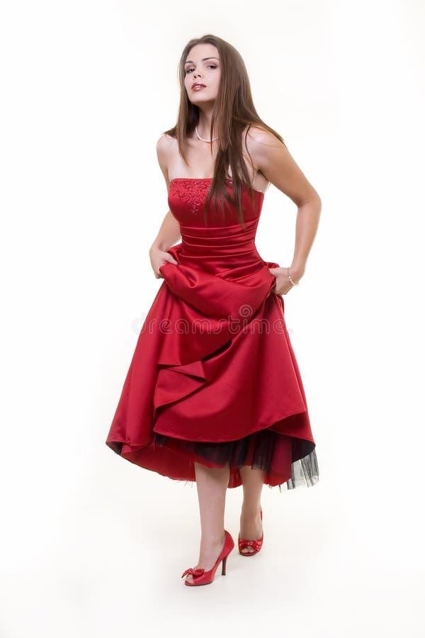 klänningstudentbal arkivbild