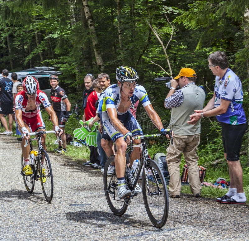Klättra för cyklister