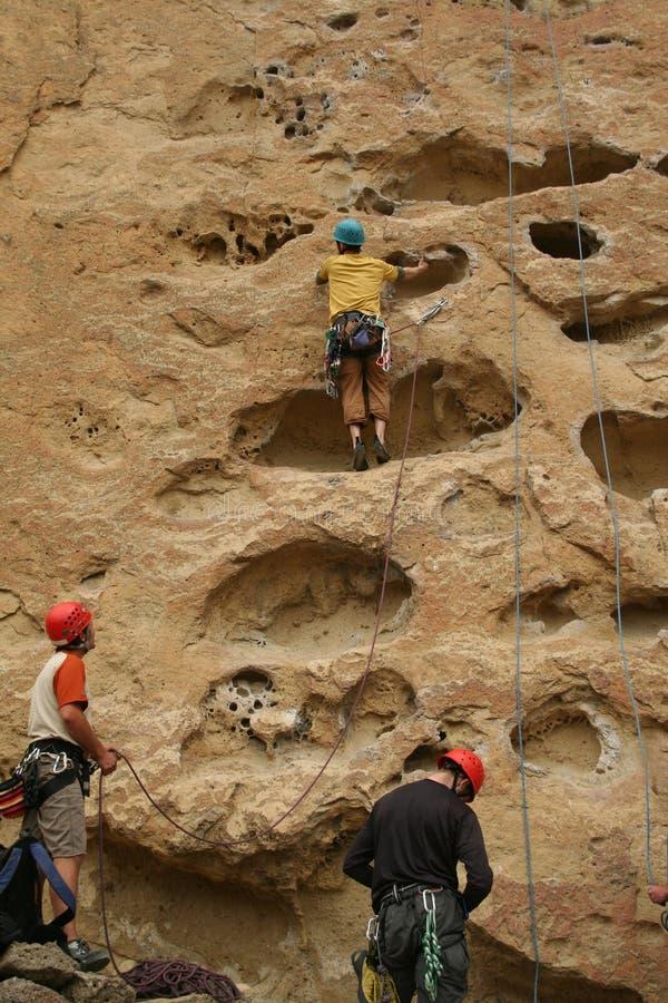 klättraregroprock royaltyfri foto